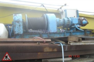 Heavy duty large electric winch - Heavy uty Large Electric Winch