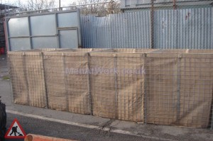 Hesco Barrier Extended - Hesco Protection Barrier