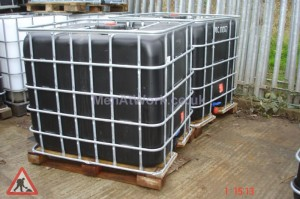 IBC Containers - IBC Black container