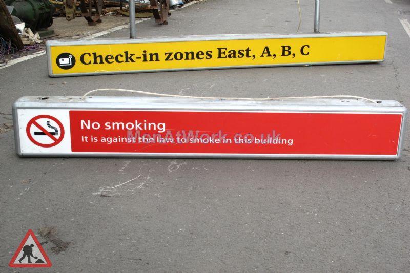 Airport Illuminated Signs - Illuminated Sign's