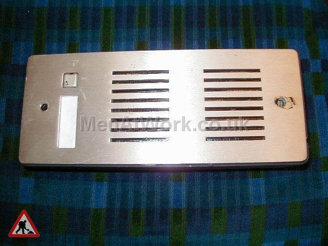 Wooden Framed Intercom - Intercom Front