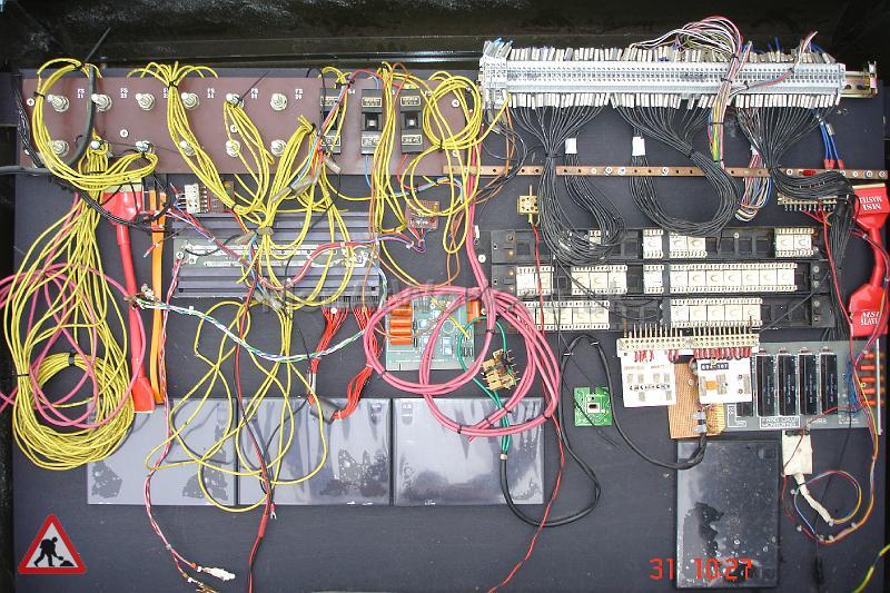 BT Line Cabinet - Interior of Line Cabinet