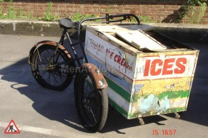 Italian Ice Cream Bike - Rear View