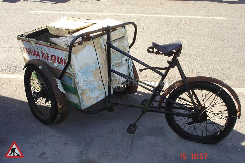 Italian Ice Cream Bike - Side View