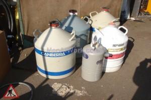 Laboritory Size Nitrogen Cylinders - Laboritory Size Nitrogen Cylinders