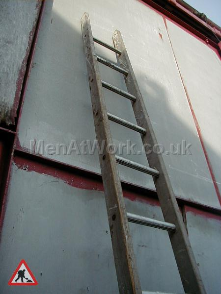 Wooden Ladders – Various Sizes - Ladder 3b – 12′