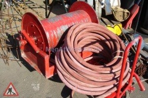 Large Fire House on Drum - Large Fire Hose on Drum (2)
