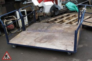 Large flat bed trolley - Large Flat Bed Trolley