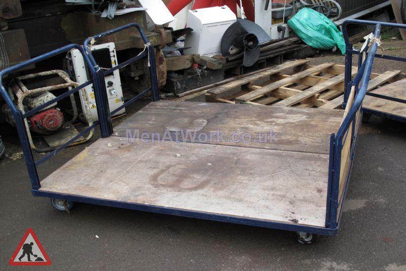Large flat bed trolley - Large Flat Bed Trolley