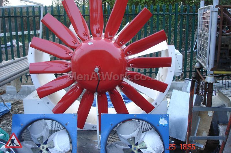 Large Red Fan - Large Red Fan