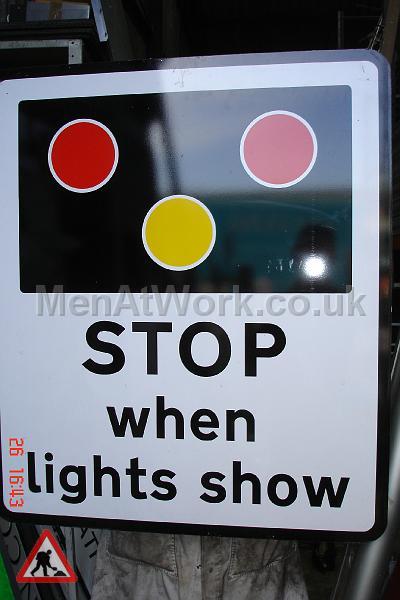 Level Crossing Stop Sign - Level Crossing – Stop Sign