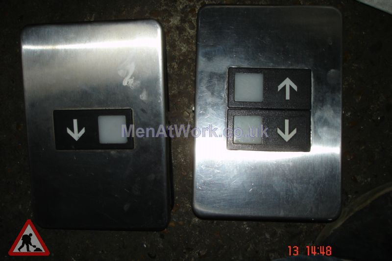 Lift Exterior Buttons - Side by side