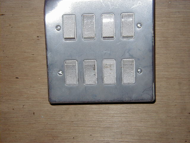 Light Switch – with 8 switches - Light switch 8