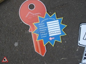 Locksmiths signs - Locksmiths Signage
