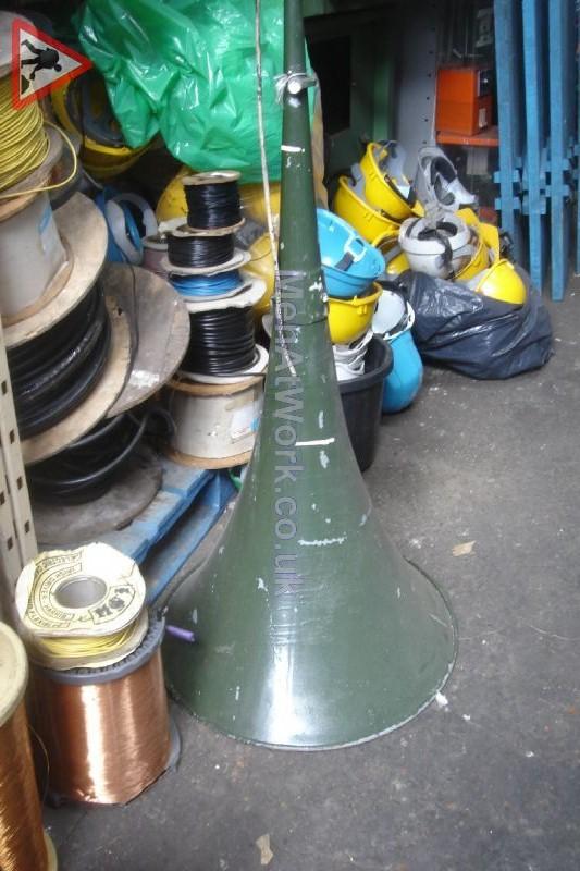 Loudspeaker – Military Green - Loudspeaker – Long Military Green
