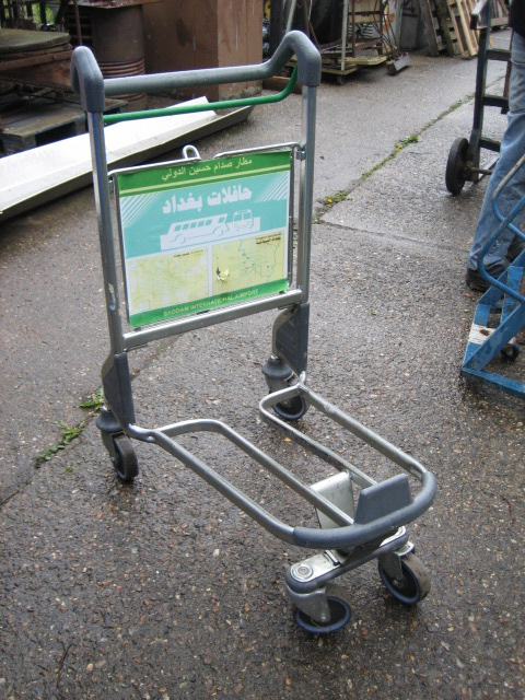 Luggage Trolley - Lugage Trolley – Single