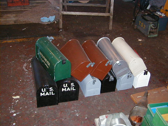 American letter boxes - Various Colours