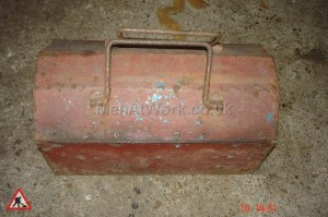 Metal Tool Box - Metal Folding Tool Box