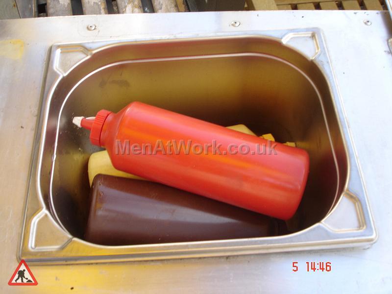 Mobile Food Vendor – Hot Dog Stand - Dressing