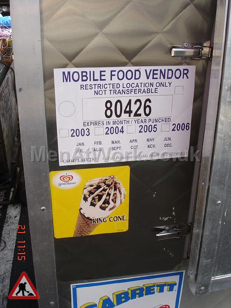 Mobile Food Vendor – Hot Dog Stand - Mobile Food Vendor Sign