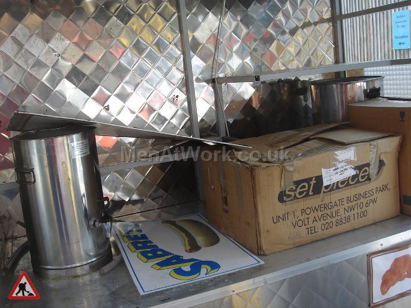 Mobile Food Vendor – Hot Dog Stand - Interior