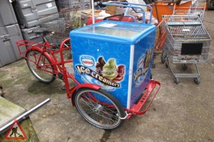 Modern Ice Cream Bike - Modern Ice Cream Bike