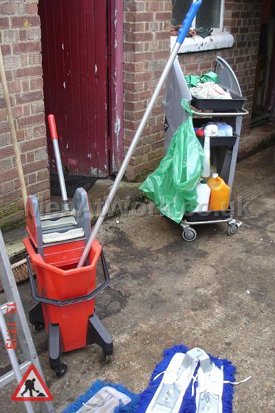 Red Mop Bucket - Mop Bucket 1