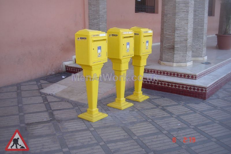 Moroccan post boxes - Morocan Post Office Exterior – Copy