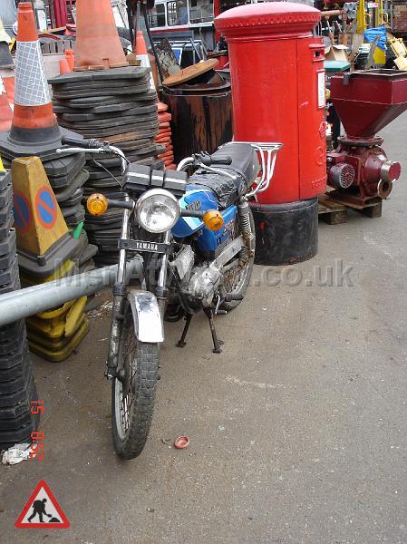 Motorbike - Motorbike – front view
