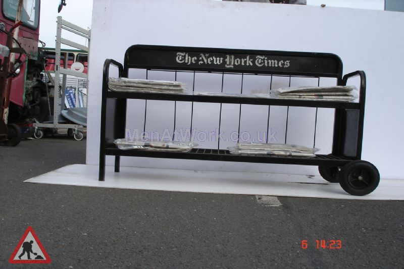 Newspaper Rack - The New York Times – trolley