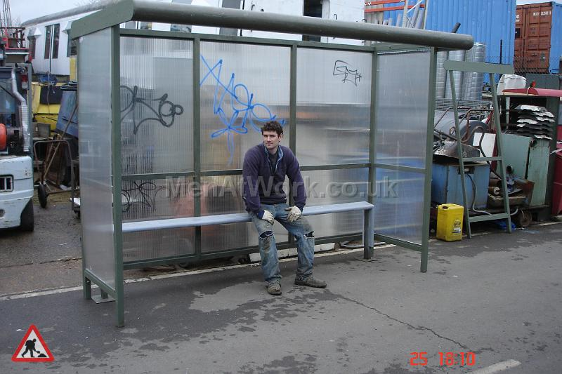 Clear Bus Shelter - Non Adshell Style