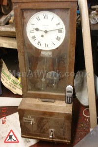 Oak Framed Clocking In Machine - Oak Framed Clocking In Machine