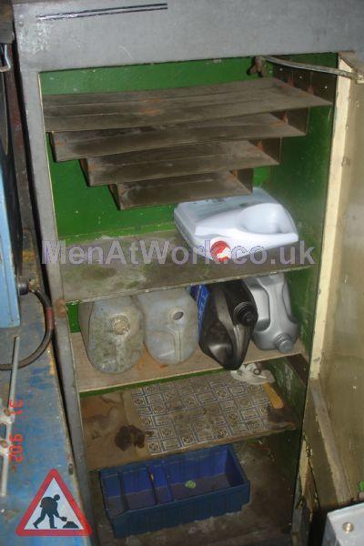 Oil Cabinet - Oil cabinet Interior