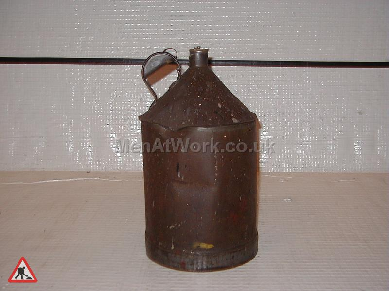 Oil Cans - Old  Oil Can