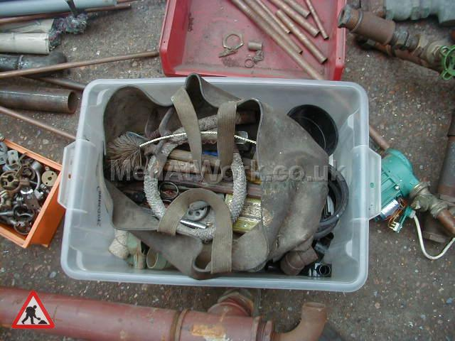 Old plumbers bag with tools - Old Plumbers Bag with Tools