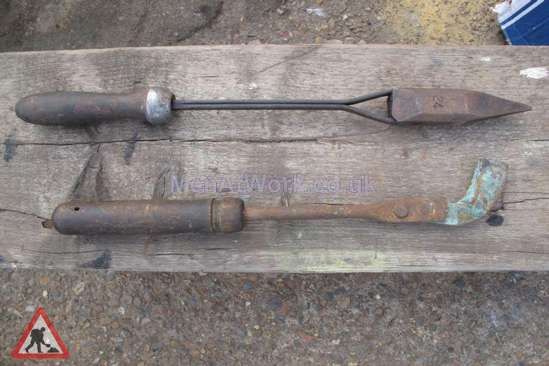 Soldering props - Old welding props
