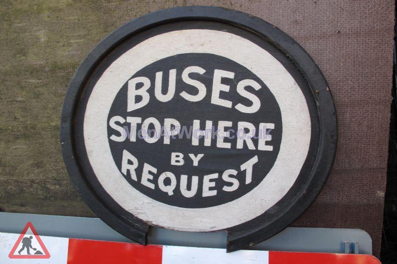 Period Bus Stop Signs - Period Bus Stop Signs (2)