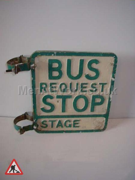 Period Bus Stop Signs - Period Bus stop  Signs