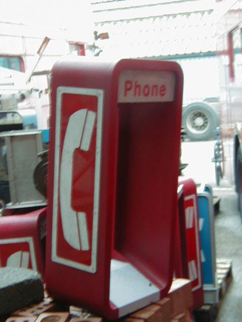 Payphones - Phone Hood Red