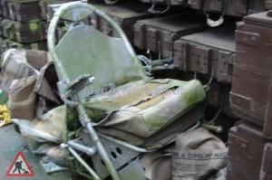 Aircraft Pilot Seat - Pilots Seat ( front )