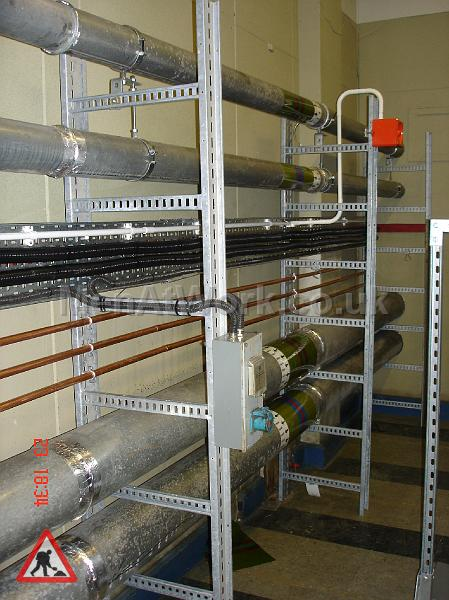 Boiler room pipes - Pipe Runs