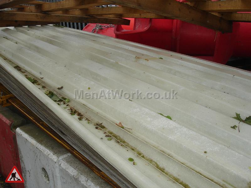Plastic Ribbed Sheeting - Plastic Ribbed Sheeting 40 Available