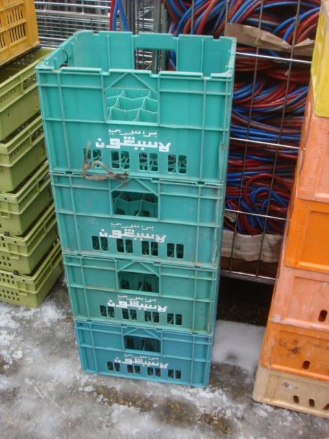Plastic storage crates - Plastic storage crate, boxes (1)