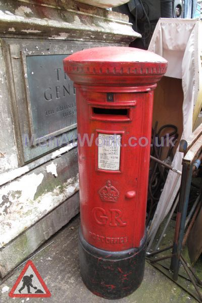 Red Letter Box - Full view