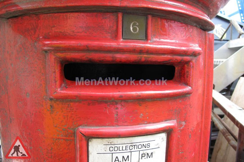 Red Letter Box - Close up