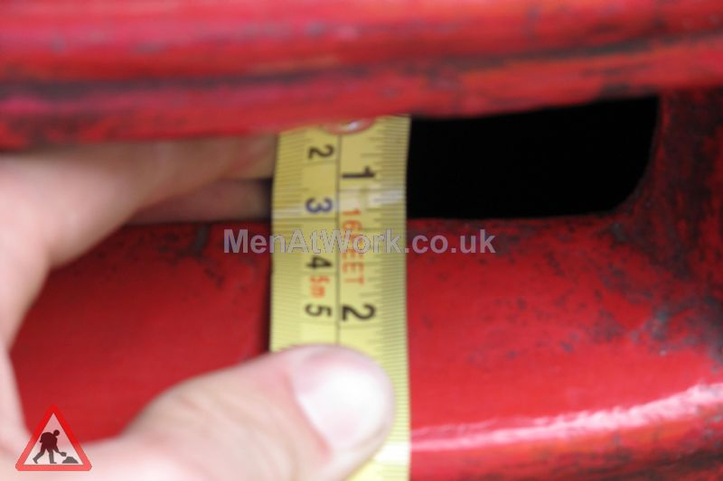 Red Letter Box - Measurements
