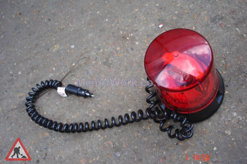 Magnetic Car Flashing Lights - Red Light