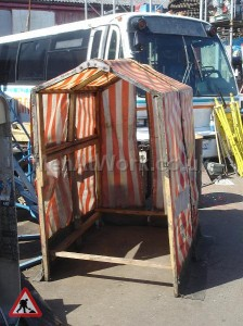 Roadworks / BT Tent - Red and White Tent (3)