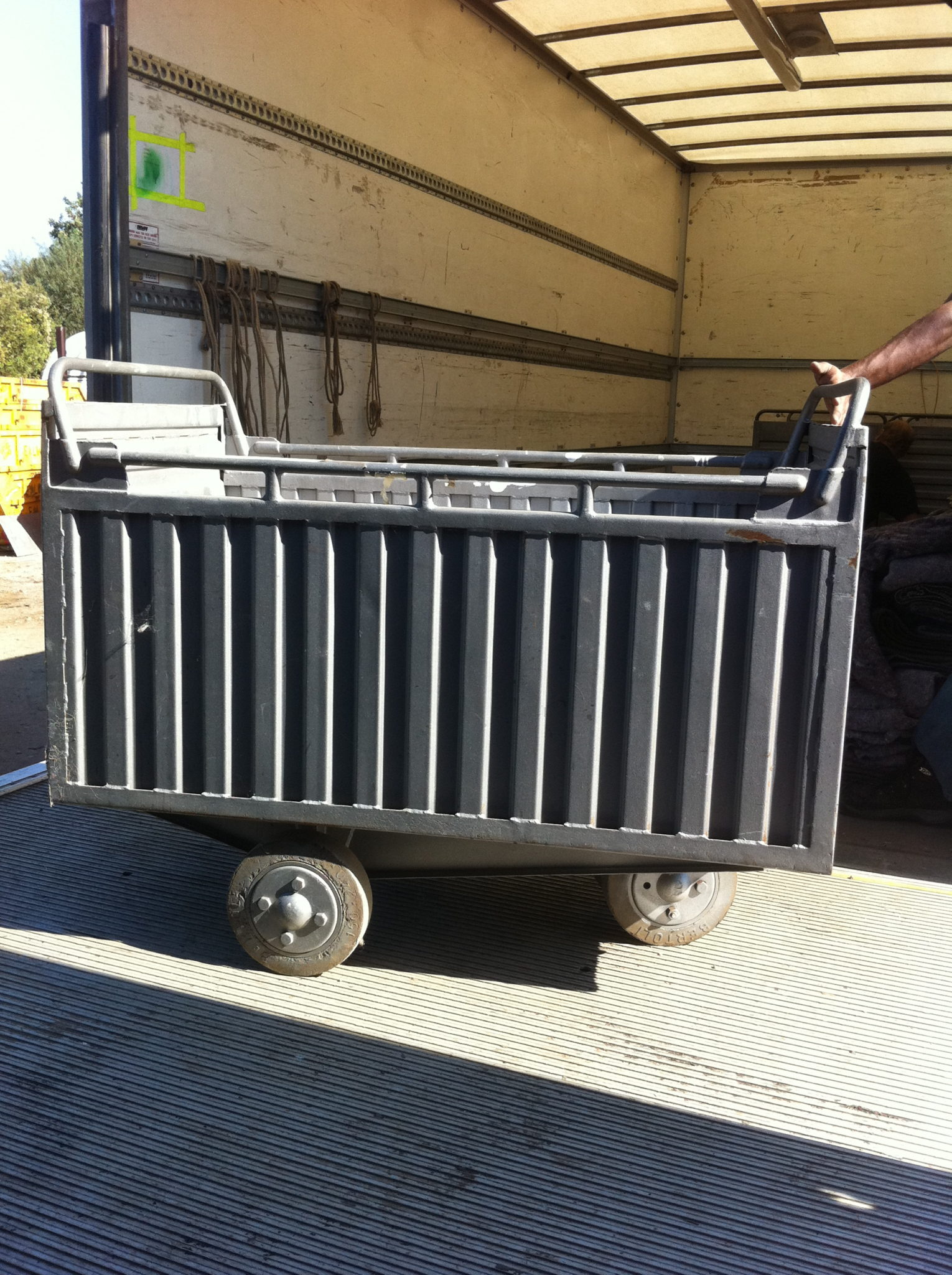 Trolleys- Heavy duty/Industrial - Ribbed Trolley 5 Available