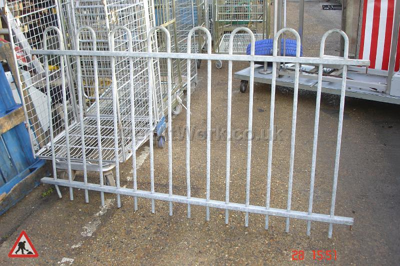 Round Top Fence Panels - Round Top Fence Panels